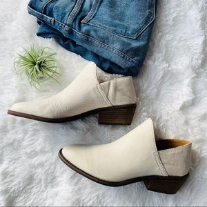 Lucky Brand Fausst Booties / Mules (white)